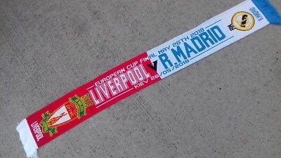 Real Madrid v Liverpool Champions League Final Scarf 2018