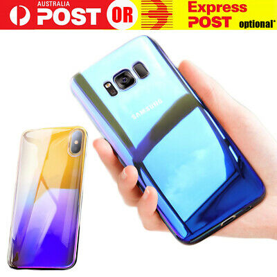Blue Ray Hard Back Case Cover for Samsung Galaxy S7 Edge S8 S9 Note Plus Hot