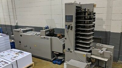 HORIZON VAC-100 TOWER, SPF-20A, FC-20A AUTOMATED BOOKLET MAKER; Bourg, Duplo