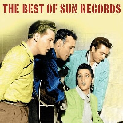 The Best Of Sun Records 2 Cd New+ Johnny Cash/Elvis Presley/Carl Perkins/+