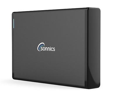 SONNICS 2TB EXTERNAL HARD DRIVE USB 3.0 for XBOX ONE PS4 WIN PC MAC FR