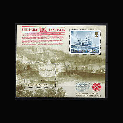 Guernsey, Sc #596, MNH, 1997, S/S, Ships, Pacific '97, SH136F