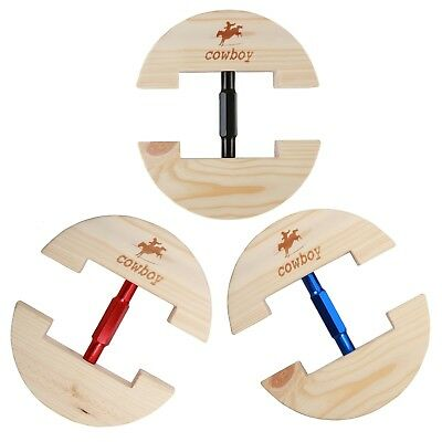 Cowboy Wood Hat Maintainer Hat Keeper Fits for Leather Hats & Casual Cotton Hats