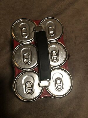 Coca-Cola 6 Pack Lunch Box Tin