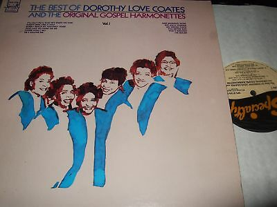 Dorothy Love Coates : Best Of Lp 1970 Speciality Usa