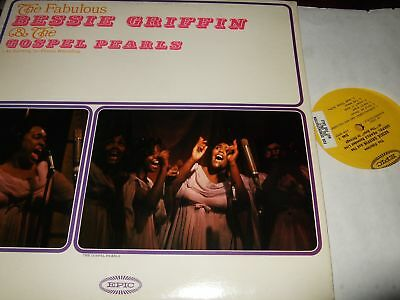 Bessie Griffin&the Gospel Pearls : The Fabulous Lp Epic Ln 24065 Usa
