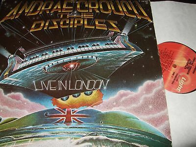 Andrae Crouch&the Disciples : Live In London 2Lp 1978 Light Usa