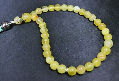 23.13gr Genuine Amber Natural Baltic Necklace Rosary Beads Jewelry Amber Stone