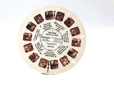 Vintage The Fonz Sawyers Viewmaster Reels 3D -Rare