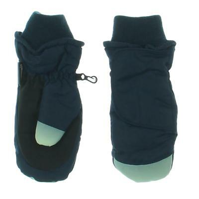 N'Ice Caps 9991 Boys Navy Glow In The Dark Insulated Waterproof Mittens S/M BHFO