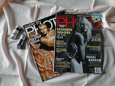 American Photo Magazine, Lot of 2, March 2007, September 2008