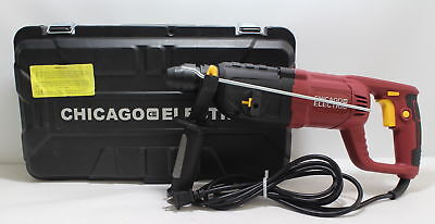 """Chicago Electric -62503- 7.3A- 1""""- SDS Rotary Hammer Drill"""