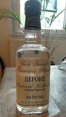 Jack Daniel's Tennessee Whiskey: before charcoal mellowing; very rare!!!