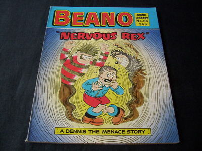 "Beano Comic Library N0 86 ""nervous Rex"""