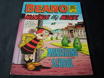 "Beano Comic Library N0 75 'minnie The Minx At ""minishing School"""