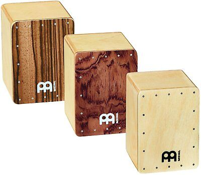 Meinl Percussion Mini Cajon Shaker Set Pack of 3 - SH50-SET