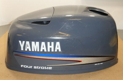 Genuine Yamaha Outboard 4 Hp 4 Stroke Top Cowling Assembly 68D-G2610-40-4D