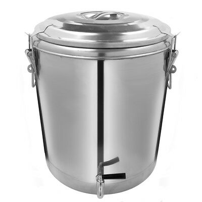 Stainless Steel Insulated Container with Spout, 40 Liter Size