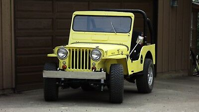 1951 Willys  1951 Willys Jeep CJ-3A