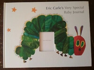NEW! Eric Carle's Very Special Baby Journal Record Memory Book Album