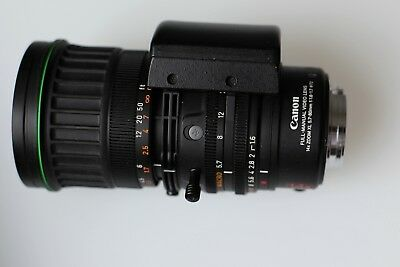Canon XL Video Lens Full - manual 14 X Zoom  5.7-80mm 1:1.6-1.7 72xl Camcorder