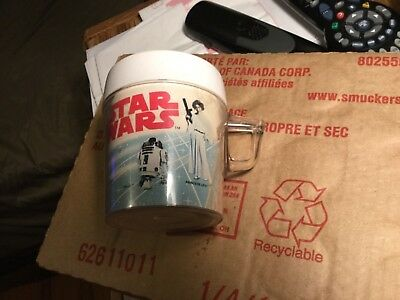 Star Wars- 1977 - Plastic Cup- Some Wear See Pics