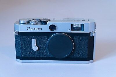 Canon-P Vintage Japanese Rangefinder Camera Body Only
