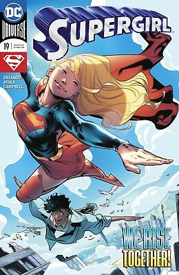 Supergirl Rebirth # 19 Regular Cover NM DC