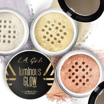 LA Girl Luminous Glow Illuminating Powder for Face Makeup Highlighter Colors 1PC