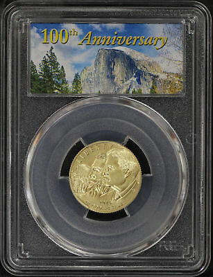 2016-W 100th Anniversary National Parks $5 Gold PCGS MS-70 First Strike -170674