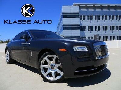"""2014 Rolls-Royce Other  2014 Rolls-Royce Wraith Coupe Ca Car 1 Owner Full Warranty 21"""" Wheels Must See"""