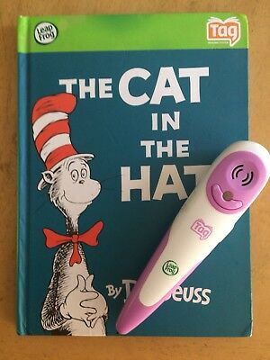 Leap Frog Dr Seuss Book Purple Tag Reader Stylus Working