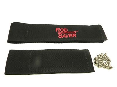 "NEW Rod Saver 10"" & 6"" Rod Saver Straps, Black 10/6RS"