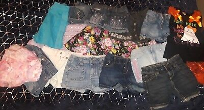 16 Pc lot of girls summer clothing size 7