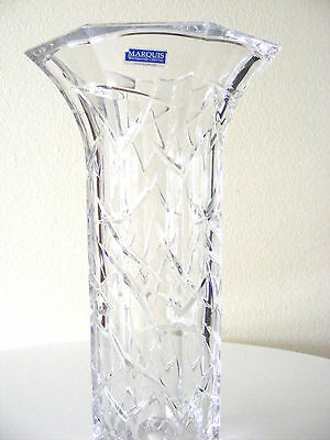 Exremely Beautiful Marquis By Waterford Flower Vase Clear Crystal