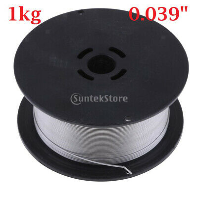 """0.039"""" 2.2 Pound Spool Stainless Steel Gasless Flux-Cored MIG Welding Wire"""