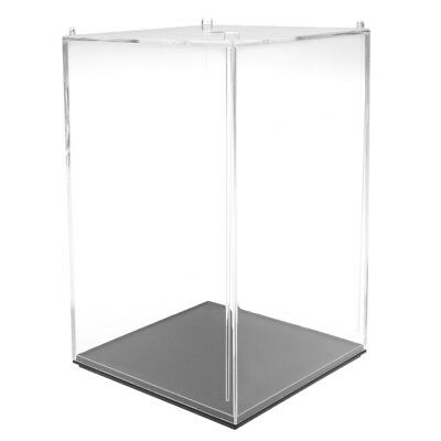 10x10x14cm Model Display Case Dustproof Protection Display Box for Figures