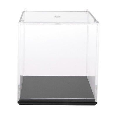 7x7x7cm Acrylic Model Display Case Dustproof Protection Box for Figures