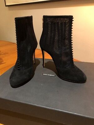 dolce gabbana Ankle Shoes Mesh EU Size 38 NEW IN THE BOX