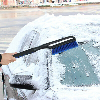 BL_ HK- Multiuse Snow Shovel with Brush Car Vehicle Ice Scraper Removal Clean To