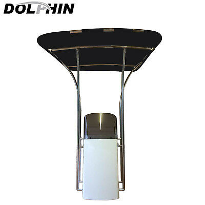 Dolphin T TOP 1in 1 1//4in adjustable stainless rod holder