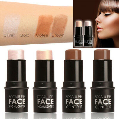 BL_ Highlight Stick Contour Shadow Shimmer Cream Face Eyes Makeup Cosmetic Delux