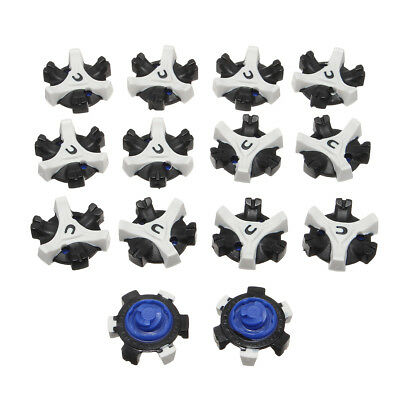 14 Pcs Golf Shoes Spikes Replacement Studs Cleats Fast Twist Tri-Lok For Footjoy