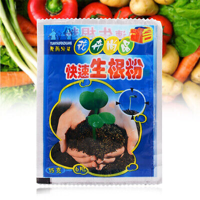 Fast Rooting Powder Hormone Growing Root Seedling Germination Cutting Seed Clone