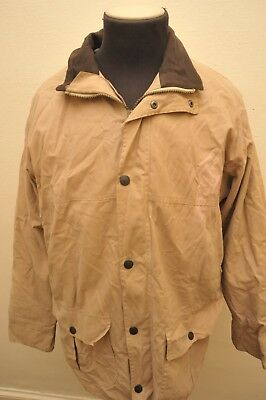 """Ultra Rare """"dry Non Wax"""" Barbour A26 Duracotton Trapper Waterproof Jacket Large"""