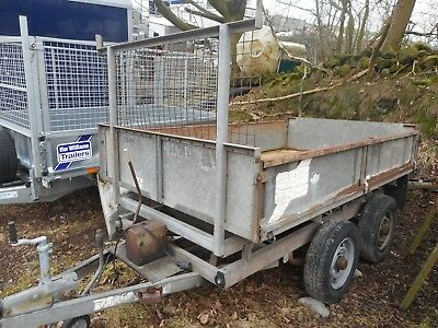 Ifor Williams Tt85 Tipper With Drop Sides C2157