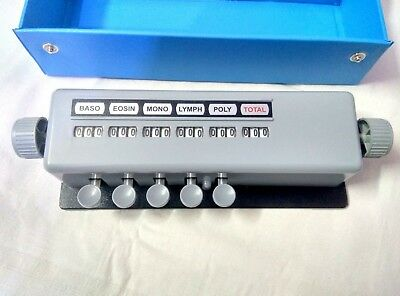 Blood Cell Counter 5 Keys Lab Equipment