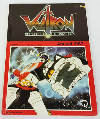 Voltron Defender of the Universe Annual 1987 Authorised Edition Hardcover