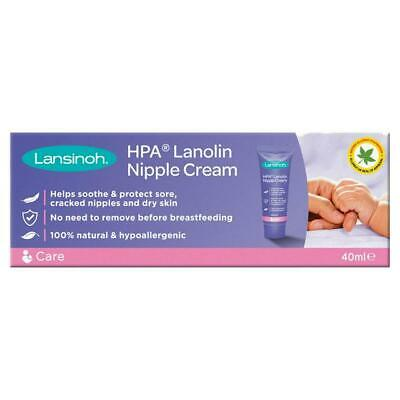 Lansinoh 40ml Soothing Cream NATURAL Nipple Cream RELIEF
