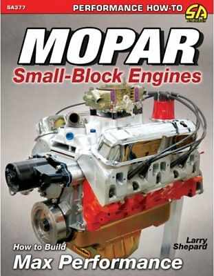 S-A Books Mopar Small-Block Engines How To Build Max Performance Book P/N 377